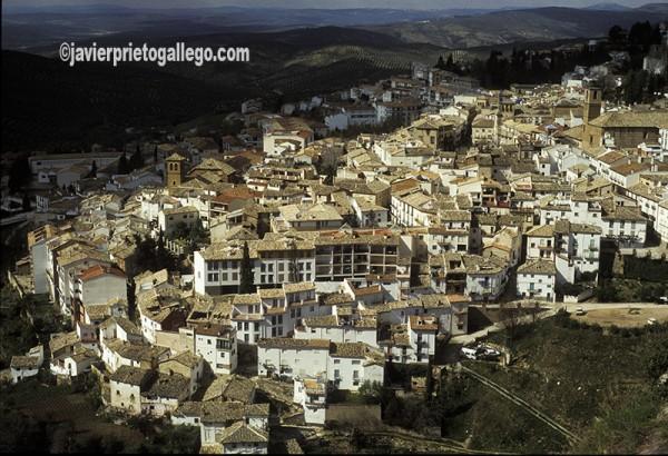 Localidad de Cazorla vista desde su castillo. Sierra de Cazorla. Jaén. Andalucía. España ©Javier Prieto Gallego