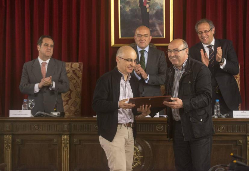 Premios de Periodismo Provincia de Valladolid 2012. Palacio de Pimentel. Javier Prieto.