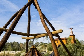 Centro de Interpretación de la Naturaleza Matallana. [Villalba de los Alcores. Valladolid. Castilla y León. España. © Javier Prieto Gallego]
