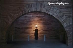 Genio de la colonia. Esta pieza se expone en el Museo Nacional de Arte Romano, de Mérida. El museo, inaugurado en 1986, fue diseñado por el arquitecto Rafael Moneo. [Localidad de Mérida. Badajoz. Extremadura. España. © Javier Prieto Gallego]
