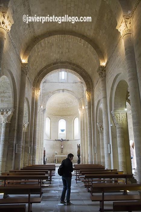 Iglesia de San Martín. Templo románico. Siglo XI. Frómista. El Camino de Santiago a su paso por Palencia. Palencia. Castilla y León. España. © Javier Prieto Gallego