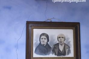 Sala de estar. Museo Etnográfico del Oriente de Asturias. Porrúa. España.