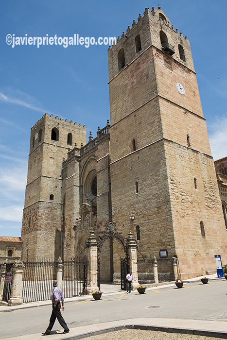 Catedral de Sigüenza.Guadalajara. Castilla-La Mancha. España. © Javier Prieto Gallego