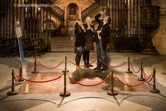 Tumba del Cid y Jimena en el crucero de la catedral de Burgos. Castilla y León. España. © Javier Prieto Gallego
