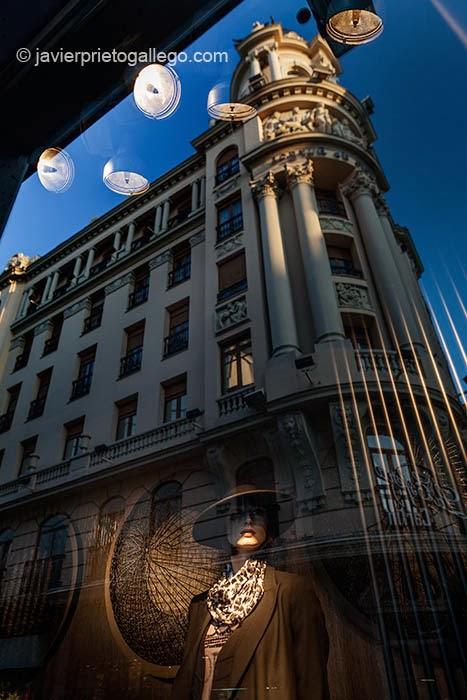 Calle de Santiago. Valladolid. Castilla y León. España © Javier Prieto Gallego