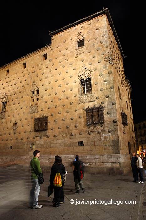 Casa de las Conchas. Salamanca capital. Castilla y León. España. © Javier Prieto Gallego