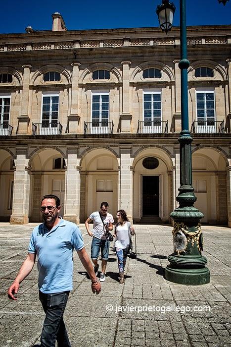 Patio principal del Real Palacio de Riofrío. Segovia. Castilla y León. España. © Javier Prieto Gallego;