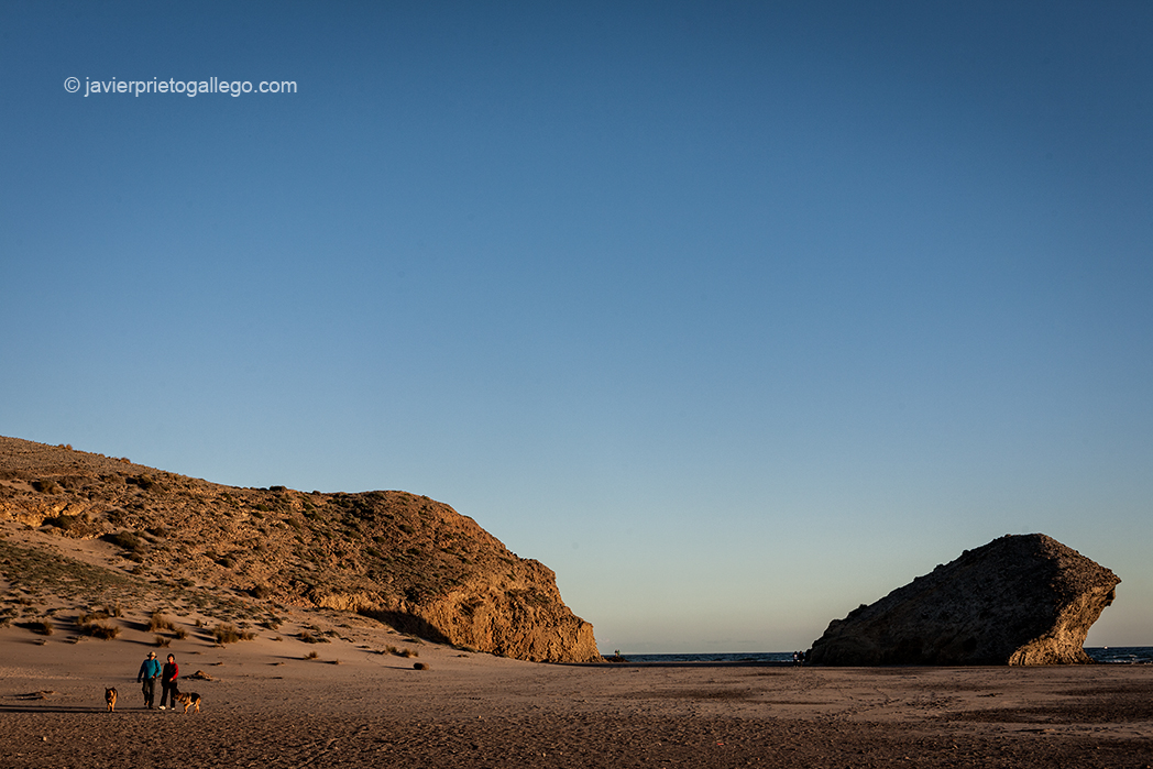 Playa del Monsul. Cabo de Gata. Almería. Andalucía. España.© Javier Prieto Gallego