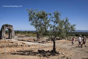 Ruinas romanas de Cáparra. Vía de la Plata. Cáceres. Extremadura. España, 2007 © Javier Prieto Gallego;