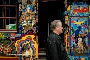 Coffee-Shopp The Bulldog, en el distrito Rojo de Amsterdam fue el primero en en abrir en Ámsterdam, en 1975. Ámsterdam. Holanda, 2005. © Javier Prieto Gallego;
