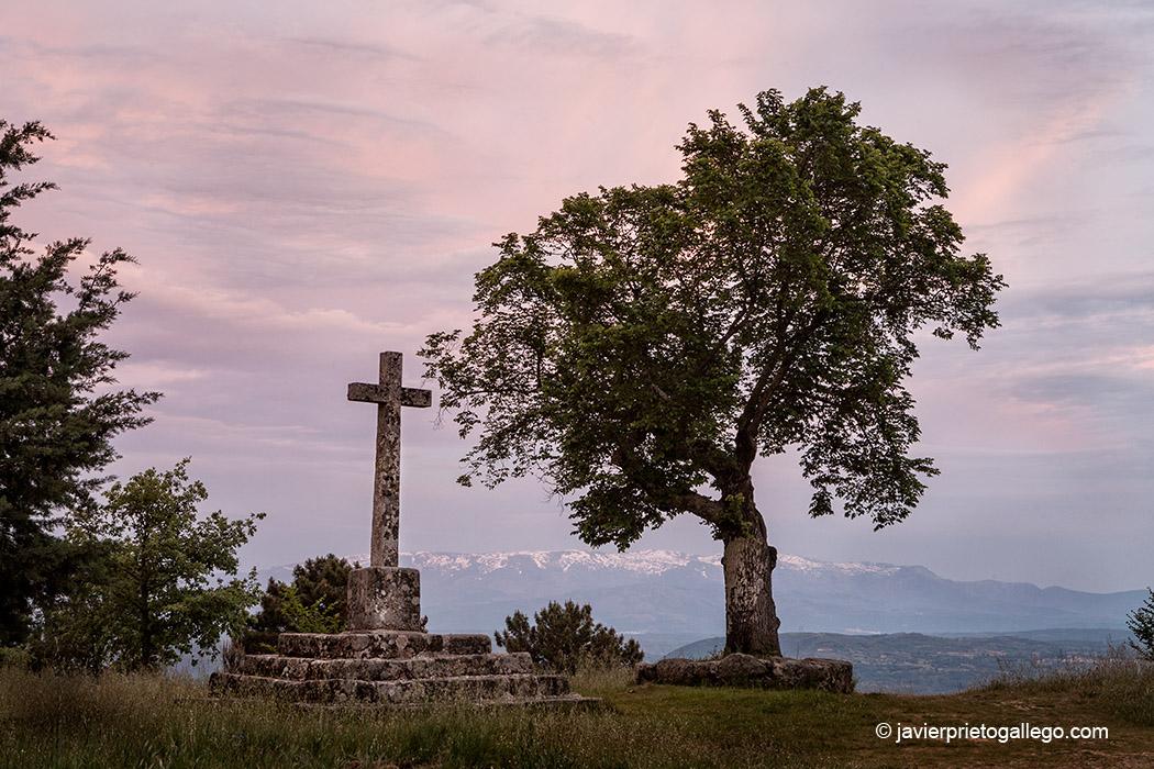 Mirador de la Cruz. Localidad de Sequeros. Salamanca. Castilla y León. España. © Javier