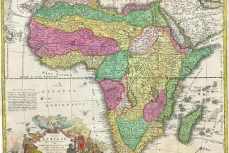 mapa africano