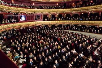 Patio de butacas del teatro Calderón de Valladolid durante un concierto. Vallladolid. Castilla y León. España, 2007 © Javier Prieto Gallego