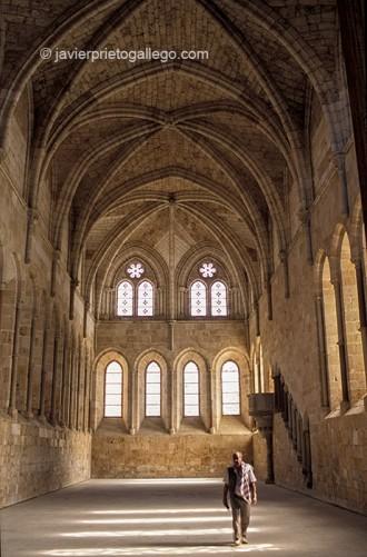 Refectorio del monasterio de Santa María de Huerta. Soria. Castilla y León. España. © Javier Prieto Gallego