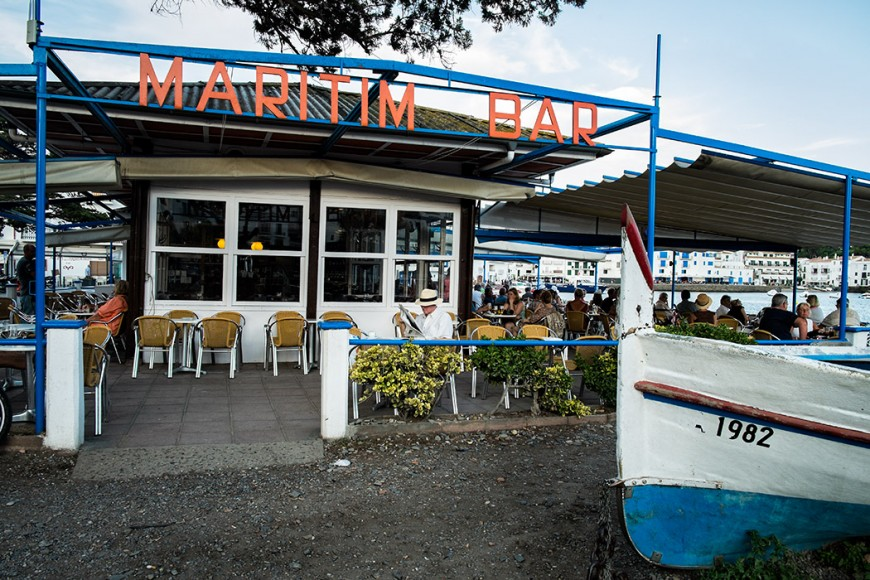 Maritim Bar. Cadaqués. Costa Brava. Gerona. España, 2014 © Javier Prieto Gallego;