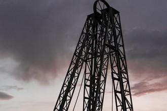 Castillete en la galerías visitables del Centro de Interpretación de la Minería. Barruelo de Santullán. Palencia. España © Javier Prieto Gallego;