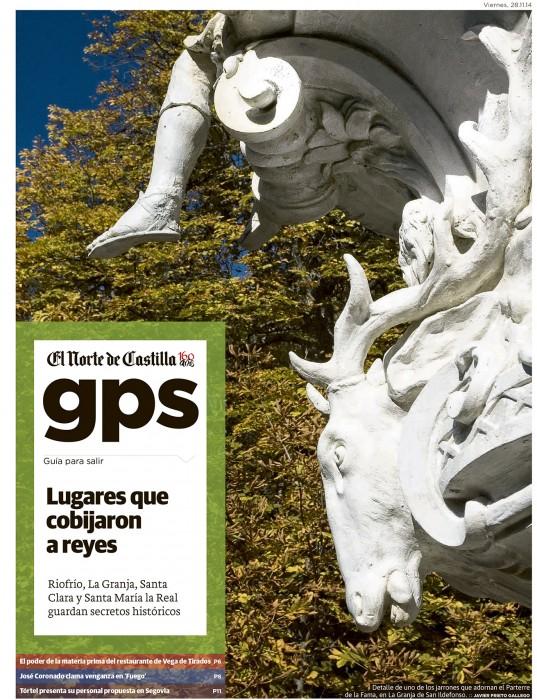 Reportaje de Javier Prieto Gallego publicado por EL NORTE DE CASTILLA.