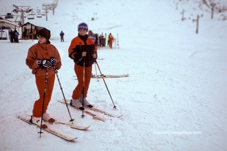 Estación de esquí de San Isidro. León. Castilla y León. España. 2002 © Javier Prieto Gallego