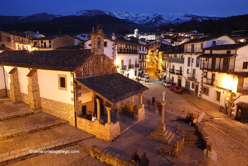 Ermita del Humilladero. Localidad de Candelario. Sierra de Béjar. Salamanca. Castilla y León. España.© Javier Prieto Gallego