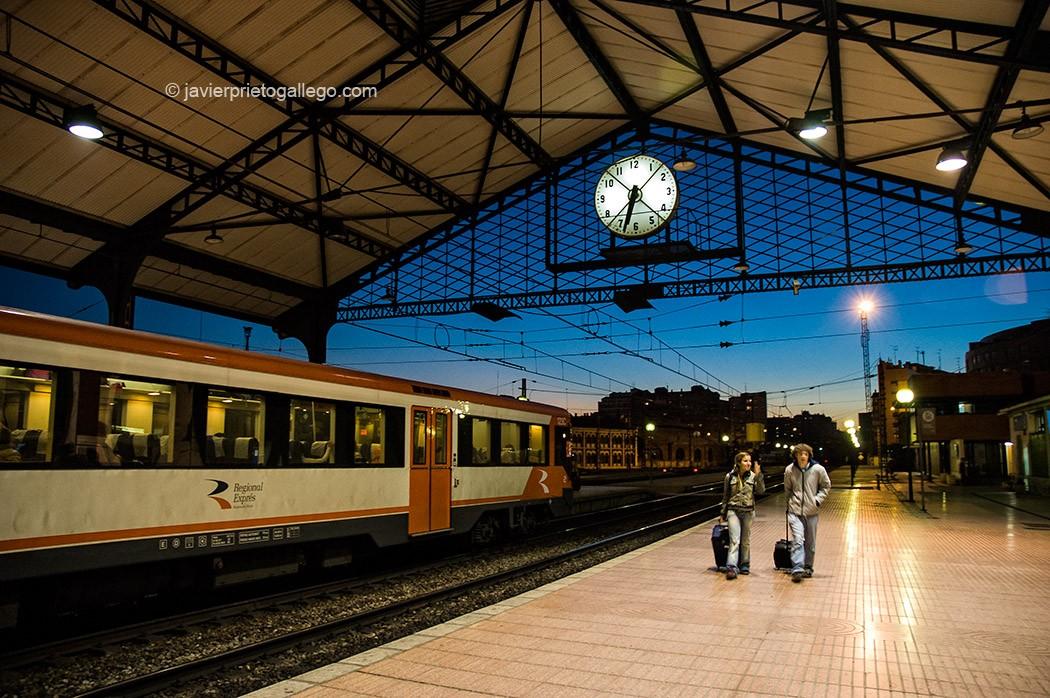 Estación del Norte. Valladolid. Castilla y León. España, 11/11/2005 © Javier Prieto Gallego;