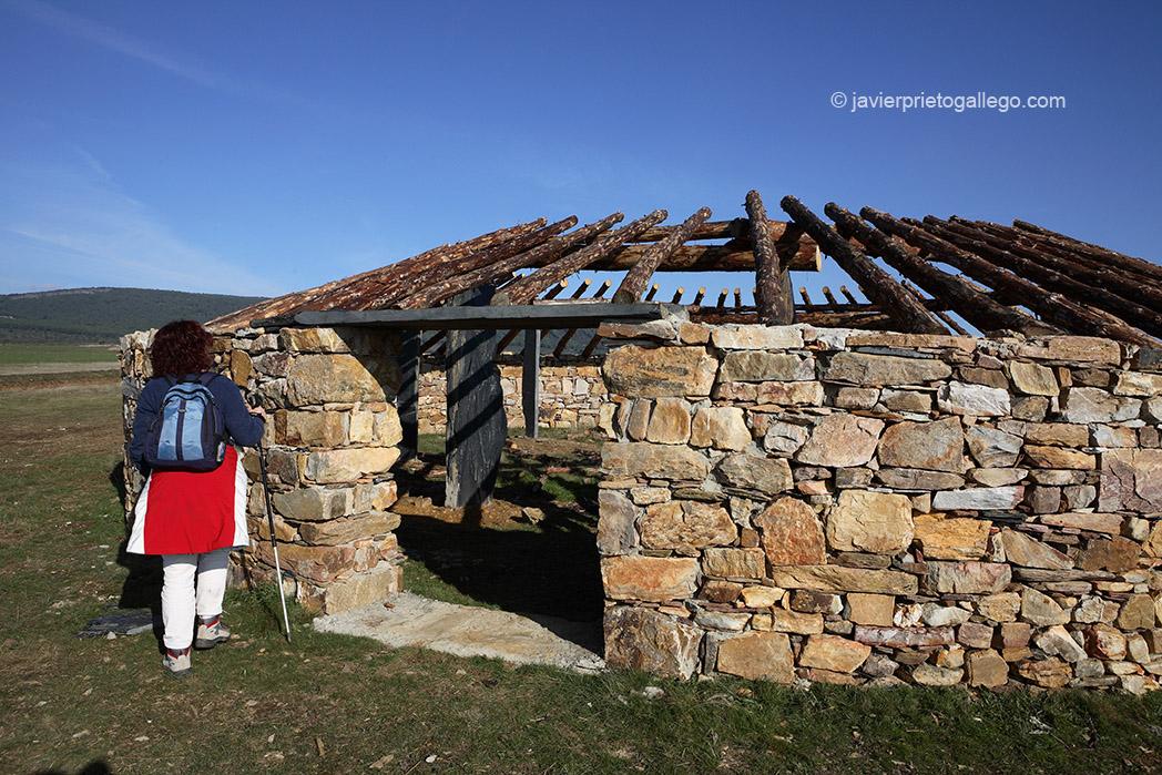 Corral tradicional de la Sierra de la Culebra en proceso de restauración. Riofrío de Aliste. Zamora. Castilla y León. España 2007 © Javier Prieto Gallego