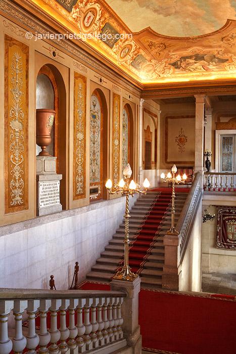 Escalera Imperial. Palacio Real. Valladolid. Castilla y León. España, 2008 © Javier Prieto Gallego