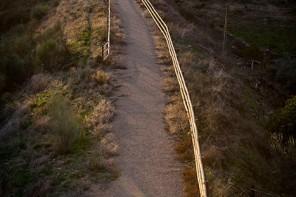 Vía Verde de las Villuercas. Localidad de Logrosán. Sierra de Guadaluope. Cáceres. Extremadura. España, 2007 © Javier Prieto Gallego