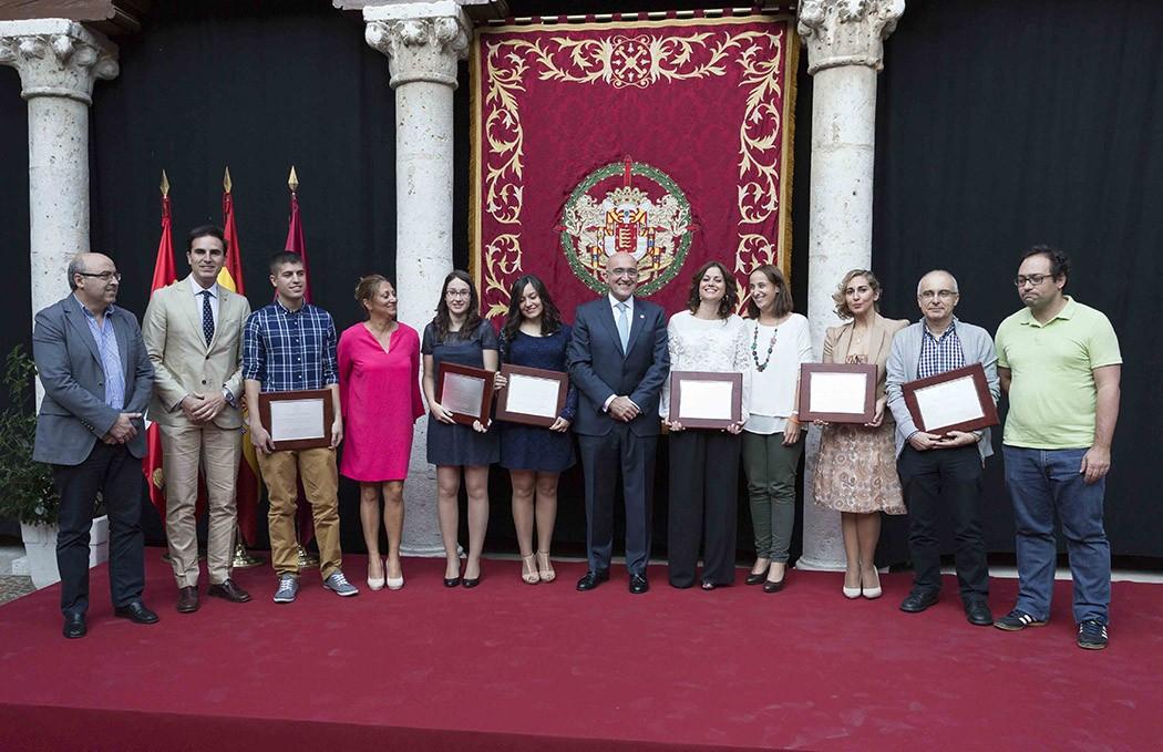 Premios de Periodismo Provincia de Valladolid 2014. Palacio de Pimentel. Javier Prieto.