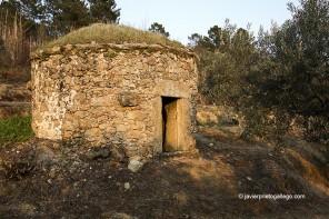 Chozos tradicionales de la Sierra de Gata. Extremadura. España. © Javier Prieto Gallego