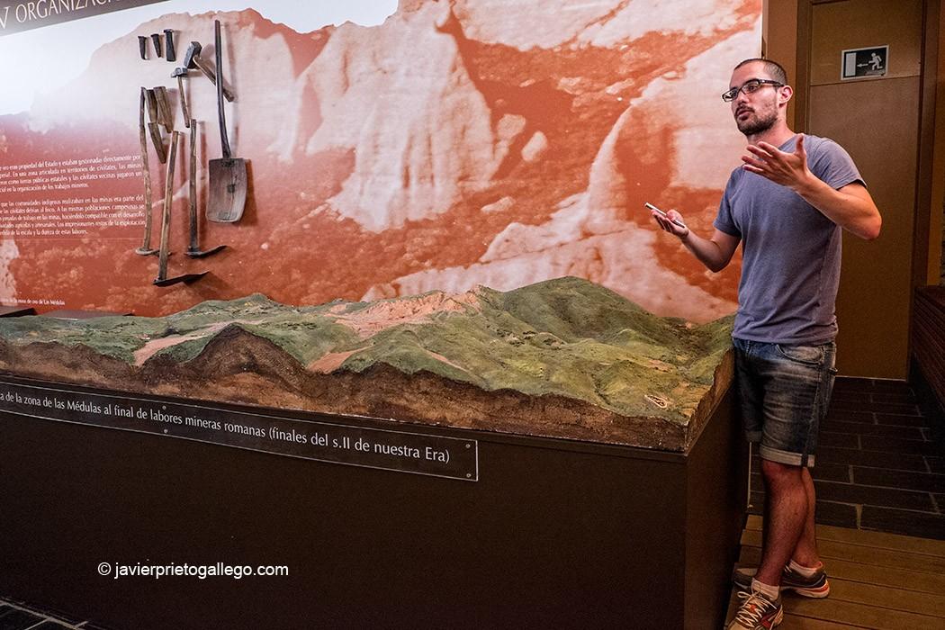 Aula Arqueológica de Las Médulas. Monumento Natural Las Médulas. El Bierzo. León. Castilla y León. España. © Javier Prieto Gallego;