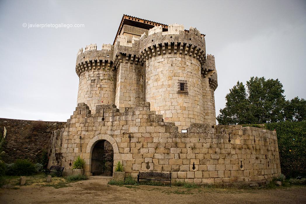 Castillo de Granadilla. Localidad de Granadilla. Tierras de Granadilla. Cáceres. Extremadura. España. © Javier Prieto Gallego