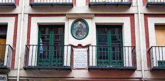 Casa donde nacio San Pedro Regalado. Calle Platerías. Valladolid. Castilla y León. España © Javier Prieto Gallego