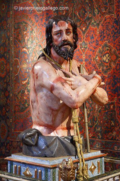Ecce homo. Siglo XVII. Museo. Monasterio de San Joaquín y Santa Ana. Valladolid. Castilla y León. España. © Javier Prieto Gallego