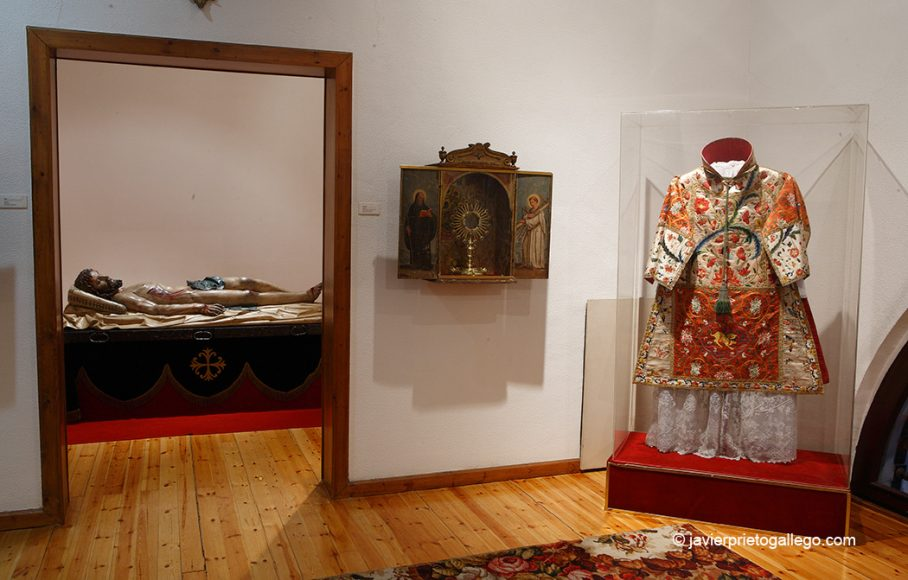 Cristo yacente. de Gregorio Fernández. Museo. Monasterio de San Joaquín y Santa Ana. Valladolid. Castilla y León. España. © Javier Prieto Gallego