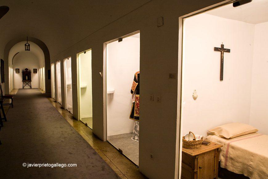 Antiguas celdas del monasterio. Museo. Monasterio de San Joaquín y Santa Ana. Valladolid. Castilla y León. España. © Javier Prieto Gallego