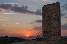 Atalaya defensiva musulmana de Quintanilla de los Barrios. Cerca de San Esteban de Gormaz. Camino del Cid. Soria. España © Javier Prieto Gallego;
