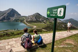 Lago Enol. Parque Nacional de los Picos de Europa. Asturias. España © Javier Prieto Gallego