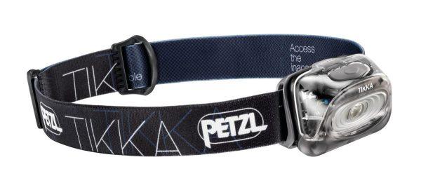 Petzl Tikka – Linterna Frontal (Headband flashlight, AAA, Negro, IPX4, NiMH)