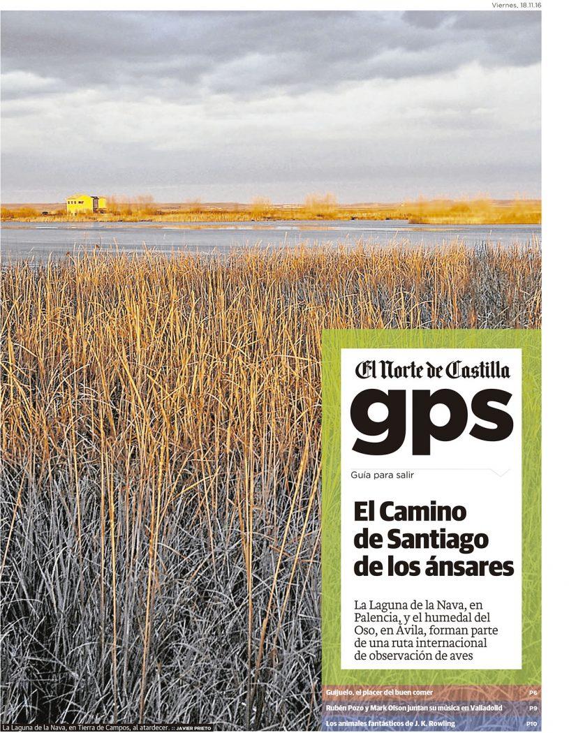 La Ruta de las Aves. Reportaje de Javier Prieto Gallego en EL NORTE DE CASTILLA.