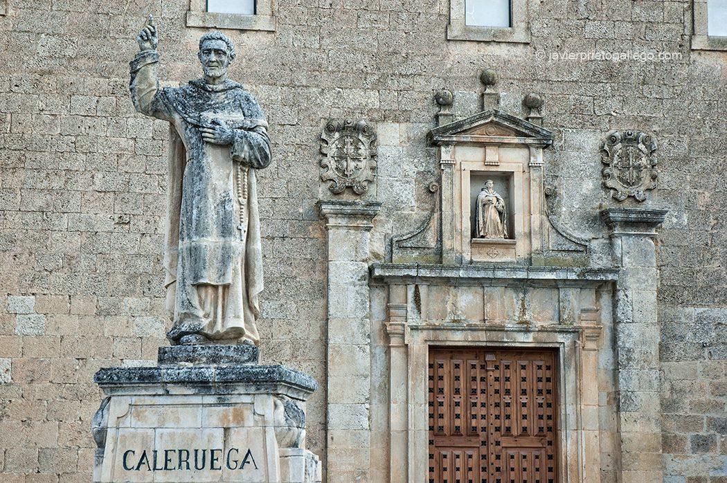 Monasterio de Santo Domingo de Caleruega. Senda de las Loberas. Caleruega. Burgos. Castilla y León España © Javier Prieto Gallego;