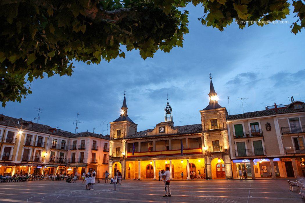 Plaza Mayor. Ayuntamiento de El Burgo de Osma. Soria. Castilla y León. España. © Javier Prieto Gallego