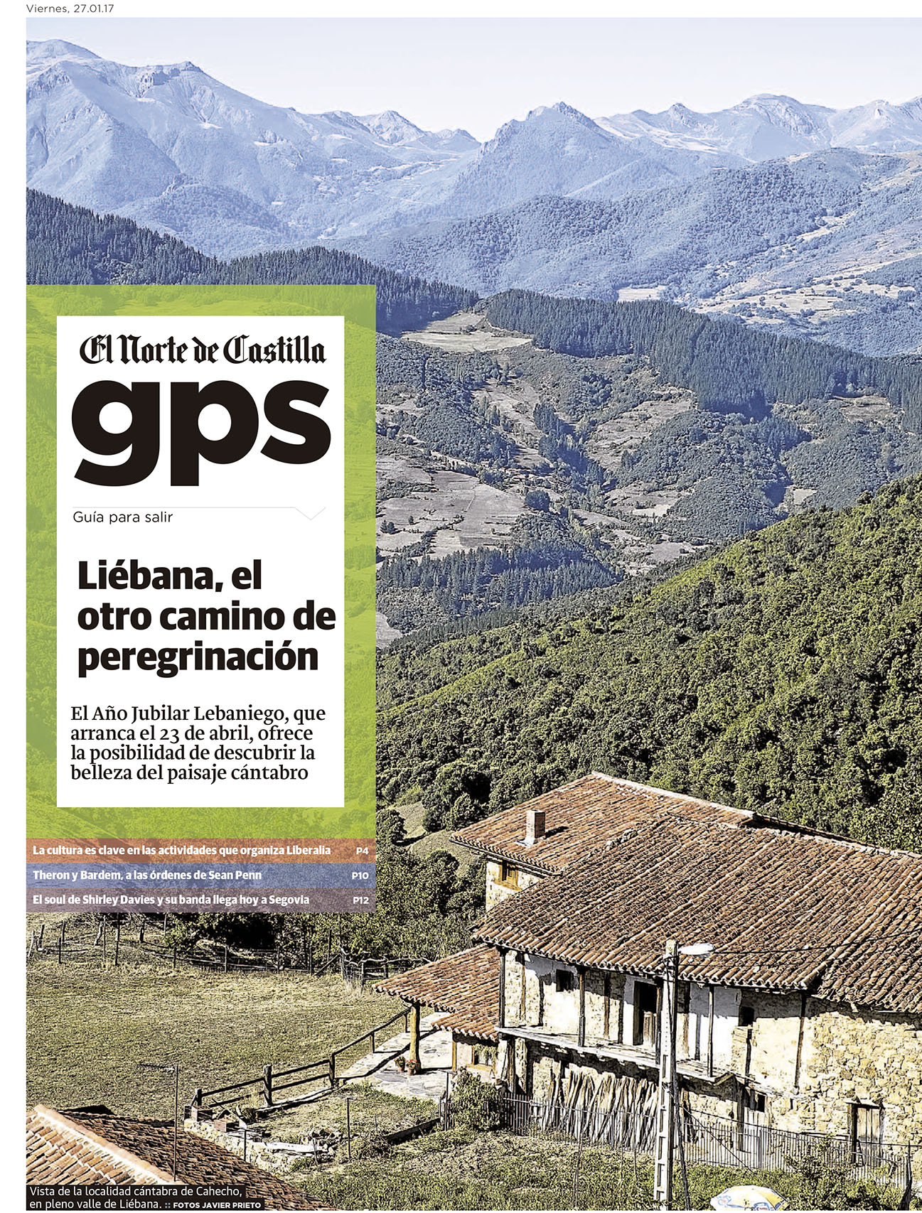 peregrinar a liébana. Reportaje de javier Prieto Gallego