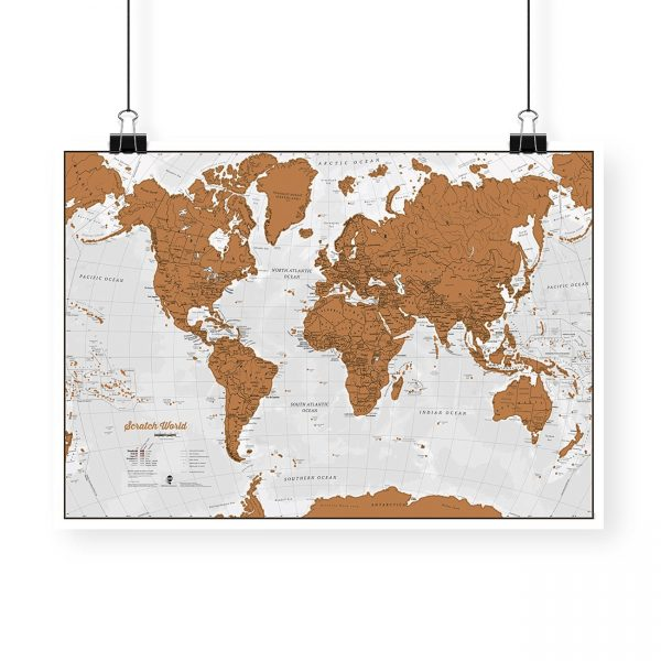 Scratch el Mundo – ¡Rasca los lugares a los que viajes!