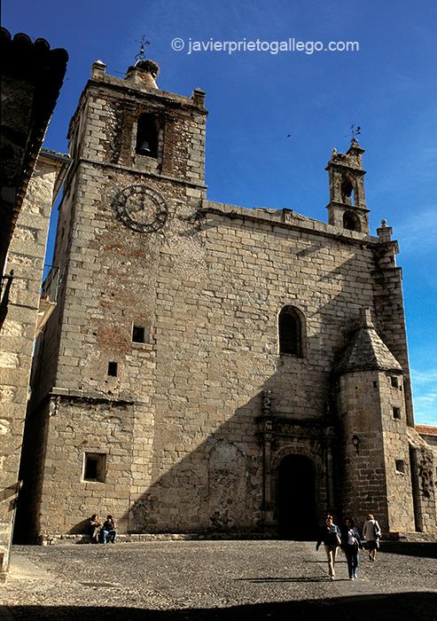 Iglesia de San Mateo. Cáceres. Extremadura. España. © Javier Prieto Gallego