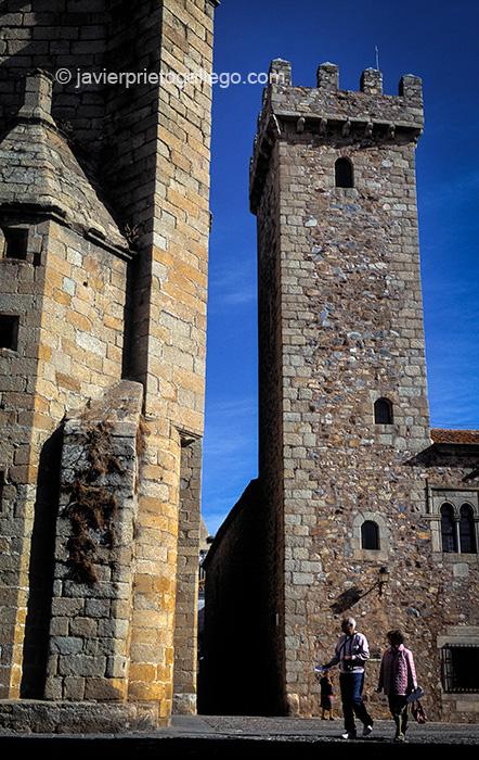 Torre del Palacio de las Cigüeñas. Cáceres. Extremadura. España © Javier Prieto Gallego