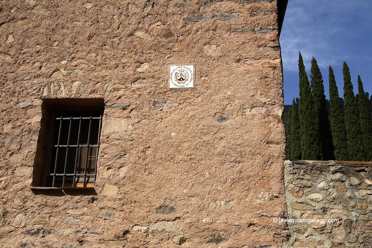 Tapia del Santuario del Santo Desierto de San José de las Batuecas. Parque Natural de Las Batuecas-Sierra de Francia. Salamanca. Castilla y León. España © Javier Prieto Gallego