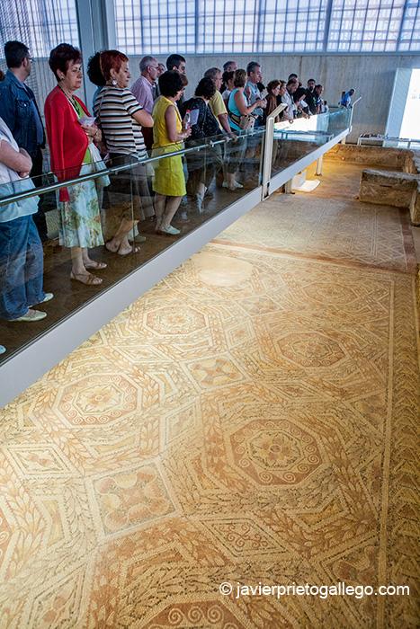 Mosaicos de la Villa romana de La Olmeda. Palencia. Castilla y León. España. © Javier Prieto Gallego