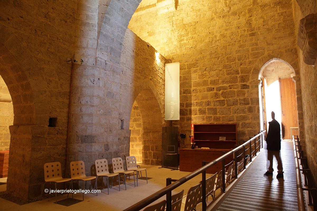 Torre del homenaje del castillo del Montealegre. Centro de Interpretación. Valladolid.Castilla y León. España. © Javier Prieto Gallego