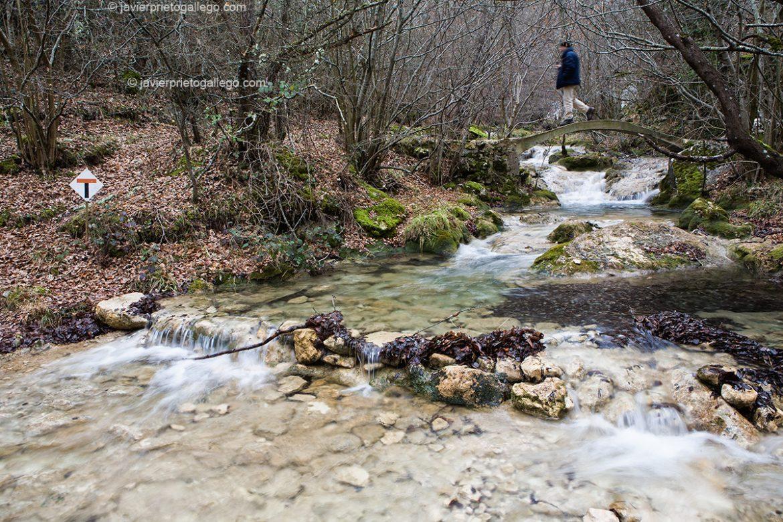Arroyo del Tobazo. GR. 99. Río Ebro. Cantabria. España.© Javier Prieto Gallego