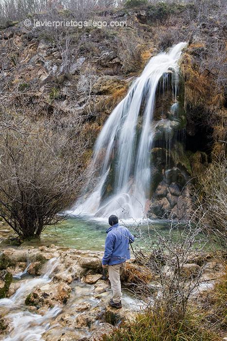 Cascada del Tobazo. GR. 99. Villaescusa de Ebro. Río Ebro. Cantabria. España.© Javier Prieto Gallego